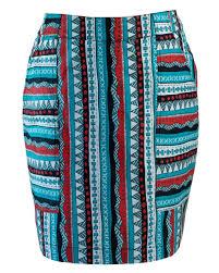 Aztec Design Skirt Fair Trade Patterns And Pockets Aztec Skirt Ethical Work