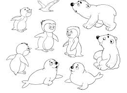 Cartoon Zoo Animals Coloring Pages Cute Free Page Amusing Printables