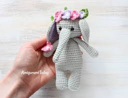 Crochet Stuffed Elephant Pattern Best Inspiration Design