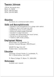Resume Template For Students With Little Experience Resume Cv
