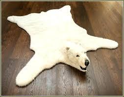 white polar bear rug fake bear rug bear rug faux small size of white bear skin white polar bear rug bear rug fake
