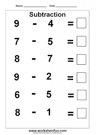 Kindergarten Addition And Subtraction Word Problems Worksheets For ...