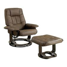 leather swivel chair ottoman and