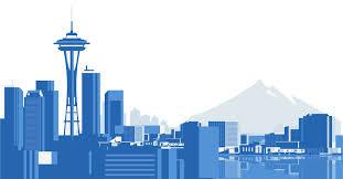 Seattle Cityscape Seattle Skyline Natcon National Council