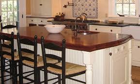 mahogany wood countertop kitchen island countertops on countertop materials