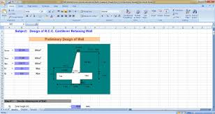 Small Picture Excel Sheets Civil Engineering