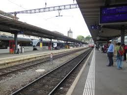 Schaffhausen railway station