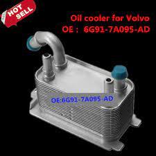 Oil Cooler For Volvo V70 S80 2 5t Xc60 Oe 6g91 7a095 Ad Car Styling Volvo Ad Car Volvo V70