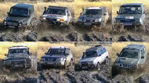 Mercedes G vs Toyota FJ Cruiser & Land Cruiser vs Nissan Patrol ...