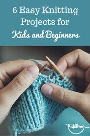 Beginner Knitting Patterns Enchanting 48 Easy Knitting Projects For Kids And Beginners