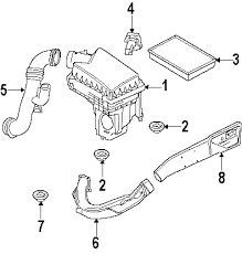 parts com® land rover lr2 engine appearance cover oem parts diagrams 2008 land rover lr2 se l6 3 2 liter gas engine appearance cover