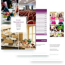 Free Event Proposal Template Event Management Proposal Template Free Sample 5