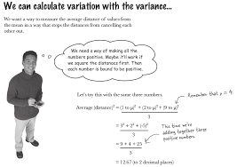 Variance Formula Why Does The Variance Formula Has A Square Term