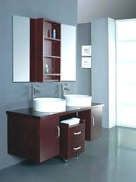 contemporary bathroom wall cabinets ideas mirrored white cabinet