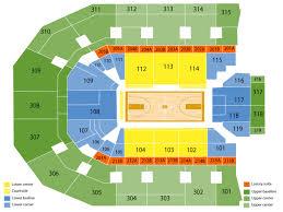 John Paul Jones Arena Seating Chart Rows John Paul Jones