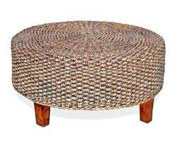 rattan coffee table ottoman make a rattan coffee table with orbs decorate papers design rattan coffee