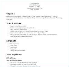 Waiter Resume Template Fascinating Restaurant Server Resume Sample From Restaurant Waiter Resume