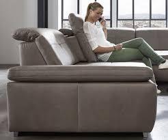 Wohnlandschaft Leder Mit Sitztiefenverstellung Sofa
