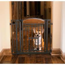 dog gates with cat door unique dog gates doors pens indoor outdoor pet gates