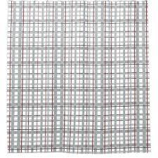 checd shower curtain shower gray burdy white plaid checd shower curtain
