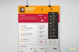 Interactive Resume Template Magnificent Simple PSD Resume Cover Letter Template In 28 Colors Resume