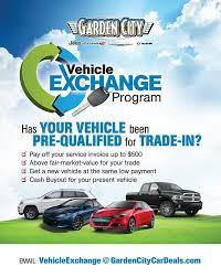 garden city chrysler. Garden City Jeep, Vehicle Exchange Program. Get Above Fair-market Value For Your Trade-in. Chrysler