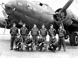 b 17 flying fortress crew from 457th bg wearing their leather a 2 jackets