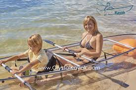 Transparent Canoe Kayak Amazoncom Crystal Explorer Transparent Kayak Canoe By The