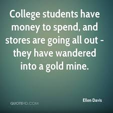 Quotes For College Students Fascinating Ellen Davis Quotes QuoteHD