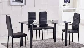 clearance argos square and black gumtree chairs images top table decor dining room extendable oval for width small design shape seater designs round set