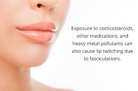 lip twitching causes treatment when