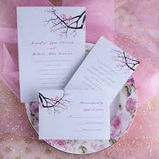 cheap wedding invitations uk online at invitationstyles Cheap Wedding Rsvp Cards Uk simple pink plum blossom wedding invitations uki130 cheap wedding rsvp cards and envelopes