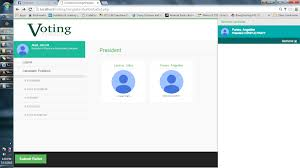 Web Based Dynamic Voting System Free Download Source Code