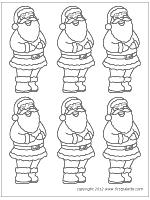 Santa Claus Printables Santa Claus Printable Templates Coloring Pages Firstpalette Com
