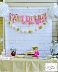 diy diy photo backdrop birthday party amazing home design simple