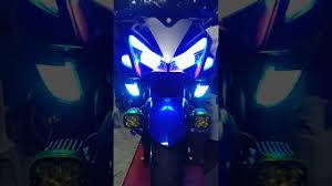 Yamaha Aerox Led Lights Yamaha Aerox 155 Light Set Up Loaded