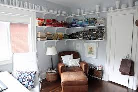 corner office shelf. Cozy Reading Corner For The Small, Eclectic Home Office [From: 8Foot6] Shelf C