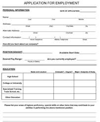 employment applications template business job application barca fontanacountryinn com