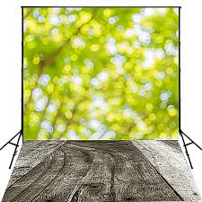 outdoor woods backgrounds. Brilliant Backgrounds Photography Backdrop Outdoor 5x7 Green And Yellow Glitter Dots With Wood  Floor Backgrounds For Photo Studio To Woods O