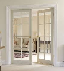 This 8 Light Clear Pine glazed door is perfect for maximising light within  your home, this door can be finished to suit your property.