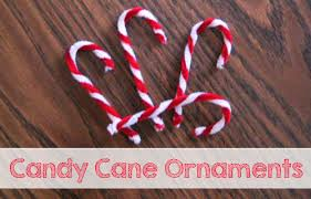Christmas Decorations With Candy Canes Easy Homemade Candy Cane Christmas Ornaments 39