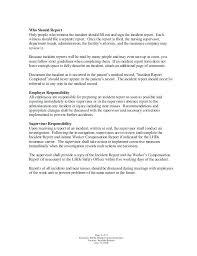 Nursing Report Template Samples Teran Co