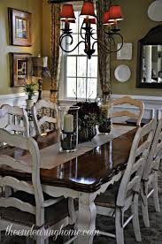 Best  French Country Dining Table Ideas On Pinterest - Dining room sets with colored chairs