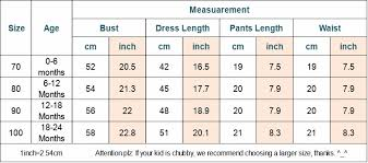 Baby Length Chart By Month Us 3 47 25 Off 3pcs Infant Toddler Kids Baby Girl Clothes Top Dress Short Pants Headband Outfits Set In Clothing Sets From Mother Kids On