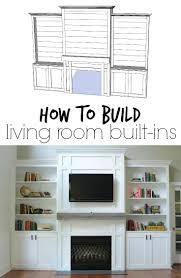 Built In Drywall Shelves Best 25 Built In Entertainment Center Ideas On Pinterest Built