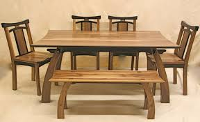 classy rectangular wooden japanese dining table with dining chairs added single benches as decorate in asian dining room decors views