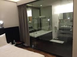 hotel maya kuala lumpur glass wall for bathroom
