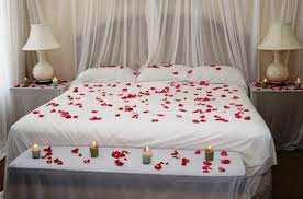 Romantic Decoration For Bedroom Bedroom Flowers And Candle Valentine Bedroom Decoration Girls