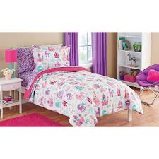 mainstays kids pretty princess bed in a bag bedding set to country girl bedding sets