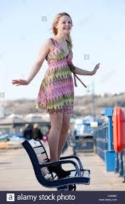 Welsh actress Georgia Henshaw Stock Photo - Alamy